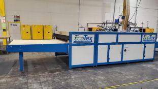 ADELCO ECO-TEX ADVANCED CURING SYSTEM PASS THROUGH DRYER; MODEL ET180G-XP-4, S/N ET180G-XP-N-36+30+D