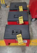 (3) STEP STOOL TOOLBOXES