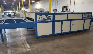 ADELCO ECO-TEX ADVANCED CURING SYSTEMS PASS THROUGH DRYER; MODEL ET180G-XP-4, S/N ET180G-XP-N-36-130