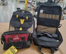 ASSORTED TOOL POUCHES