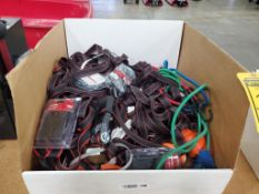 ASSORTED BUNGEE CORDS & RATCHET STRAPS