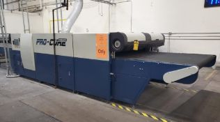 ADELCO PRO-CURE PASS THOUGH DRYER; 250,000 BTU, 6' MAKE UP AIR BURNER, PROPANE/NATURAL GAS, WITH HEL