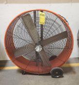 (2) MAXX 40'' AIR PRO DRUM FANS