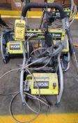 RYOBI PREMIUM ELECTRIC PRESSURE WASHER; 2,000 PSI, 1.2 GPM