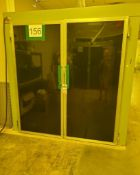 DOUTHITT SCREEN DRYER BOOTH; NO. 77814, 14-AMPS, A/C, 240-VOLTS, 60-HZ, 1-PHASE, 25X36 SCREENS, DRO