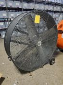 (1) 4' STRONGWAY 120 V. BELT DRIVE DRUM FAN, MODEL 49935, S/N 001586