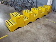 (5) ULINE STEP STOOLS