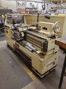 """JET GEARED HEAD ENGINE LATHE, MODEL 1440-3PGH, S/N 98116D248, 60"""" GAP BED, 8"""" OVER CENTER, 3"""" BAR TH"""