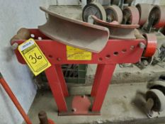 NORTHERN 16-TON PIPE BENDER WITH SHEEVES