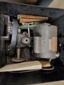 UMORE TOOL POST GRINDER, MODEL C6C34DZI, 1/2-HP, METAL CASE WITH MANUAL