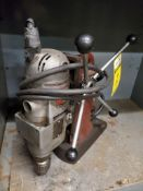 """MILWAUKEE MAGNETIC BASE DRILL, 1-1/4"""" CAPACITY, 250/500 RPM"""
