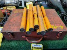 HILTI TE-17 ELECTRIC HAMMER DRILL IN METAL CASE