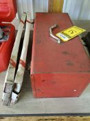 MILWAUKEE HEAVY DUTY PORTABLE BAND SAW WITH SPARE BLADE BANDS