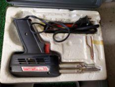 WELLER 8200 SOLDERING GUN IN CASE