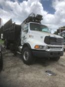 2005 STERLING 9513 GRAPPLE TRUCK, PRENTICE 124 GRAPPLE ARM, GALBREATH ROLL-OFF BED, MODEL US-OR-194,