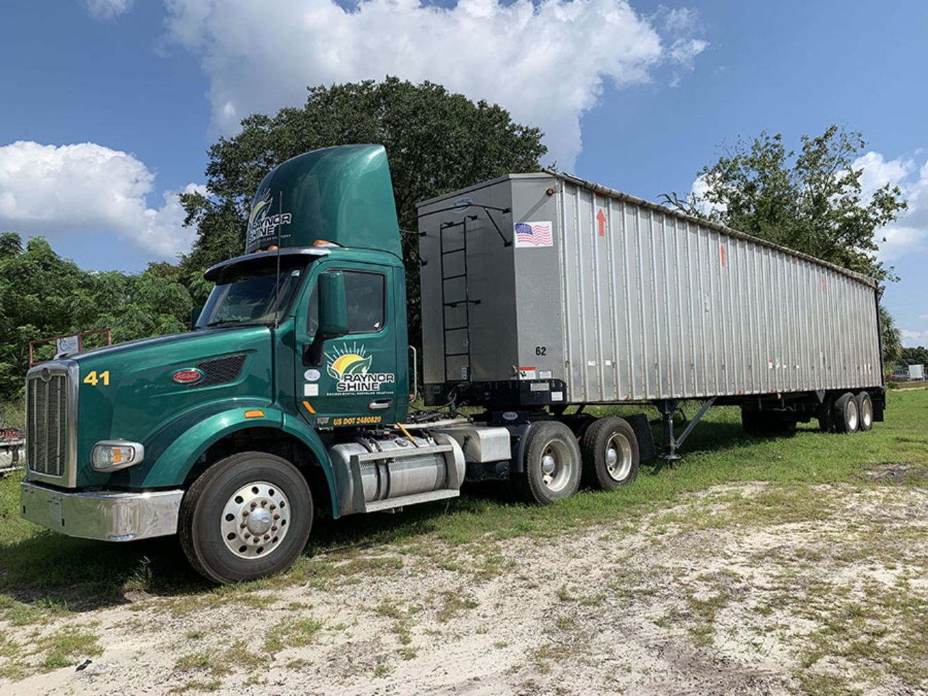 Raynor Shine Services, LLC - Land Clearing Equipment, Truck Tractors, Trailers, All-Terrain Forklifts