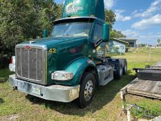 2015 PETERBILT 567 T/A DAY CAB TRACTOR, PACCAR MX13-13 DIESEL ENGINE, EATON FULLER FRO16210C TRANSMI