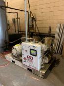 2015 GARDNER DENVER ELECTRA-SCREW AIR COMPRESSOR, MODEL EDE99N02E, 460/60/3, S/N S465215, 14,210 HOU