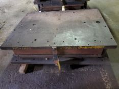 """PANEL STAMP DIE, HC-1000, HIGH CROSSBUCK, 52"""" X 40"""" OUTSIDE MEASUREMENTS"""