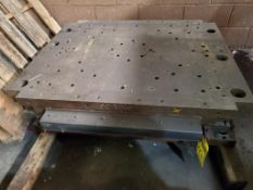 """PANEL STAMP DIE, SC-2000, SQUARE CROSSBUCK, 52"""" X 40"""" OUTSIDE MEASUREMENTS"""