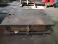 """PANEL STAMP DIE, DP-6000, DOUBLE PROVINCIAL, 52"""" X 40"""" OUTSIDE MEASUREMENTS"""