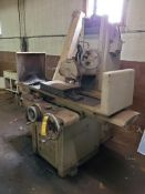 """ABRASIVE MACHINE TOOL COMP. HYDRAULIC SURFACE GRINDER, MODEL 1218, 18"""" X 12"""" PERMANENT MAGNETIC"""