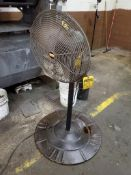 (5) INDUSTRIAL AND ASSORTED PEDESTAL FANS