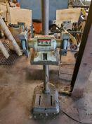 """JET 6"""" PEDESTAL GRINDER, MODEL JBG-6A, 1/2 HP, 3450 RPM"""