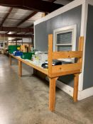 (2) ASSEMBLY TABLES, 3' X 10'