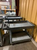 (2) RUBBERMAID UTILITY CARTS