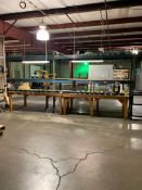 (2) ASSEMBLY TABLES, 4' X 8'