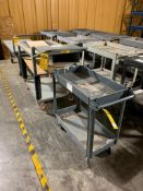 (2) UTILITY CARTS: LITTLE GIANT & OTHER