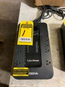 CYBER POWER 800 VA BATTERY BACK-UP SURGE PROTECTOR