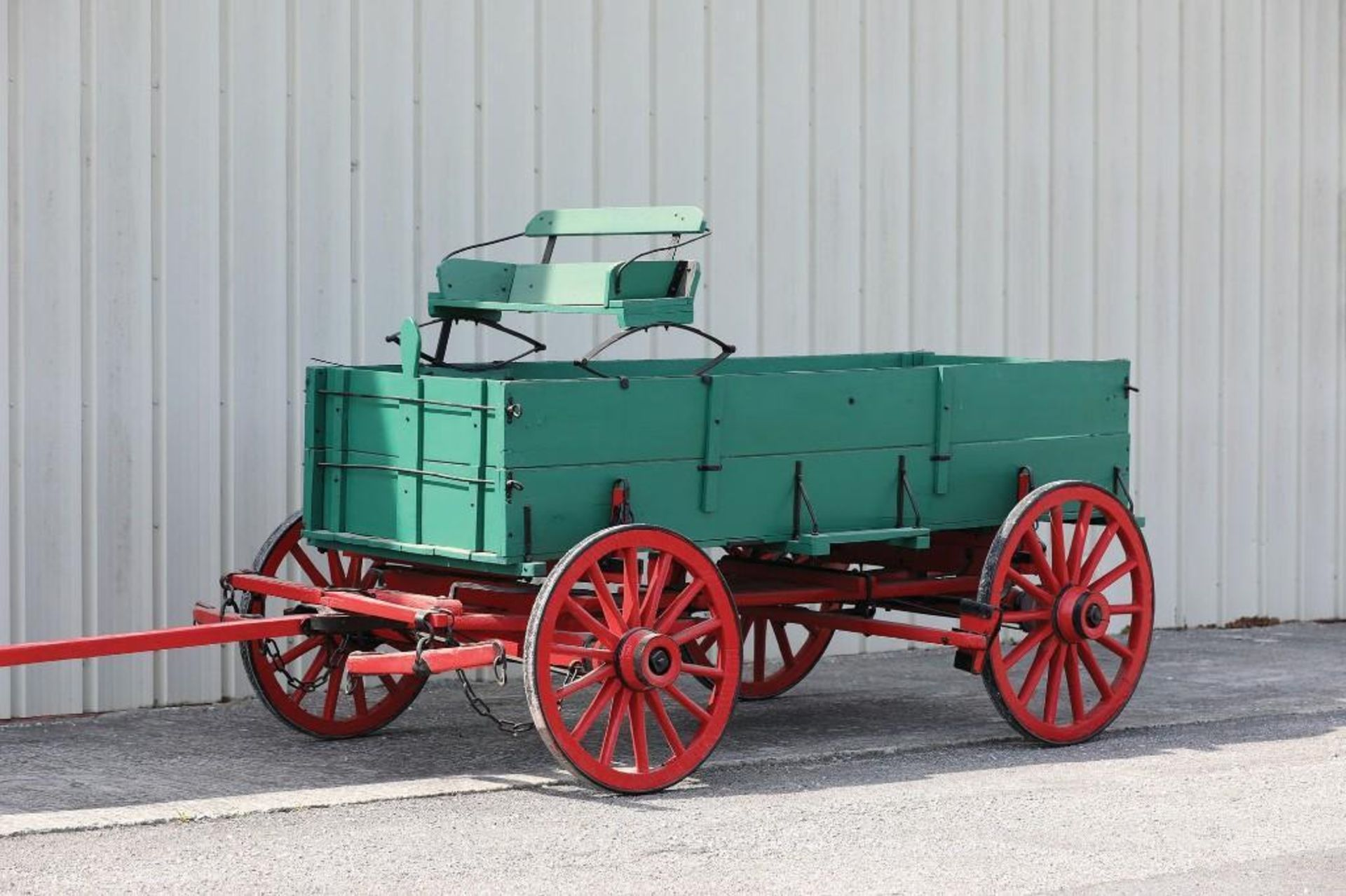 OWENSBORO Boxed Bed Farm Wagon, Recent Restoration - Image 2 of 2