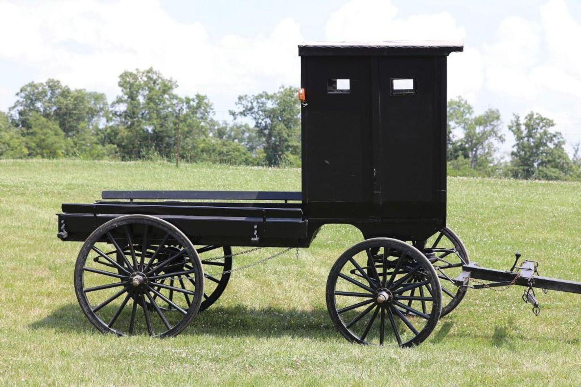 Amish-Built Cut-Under Storm Wagon - Image 2 of 2