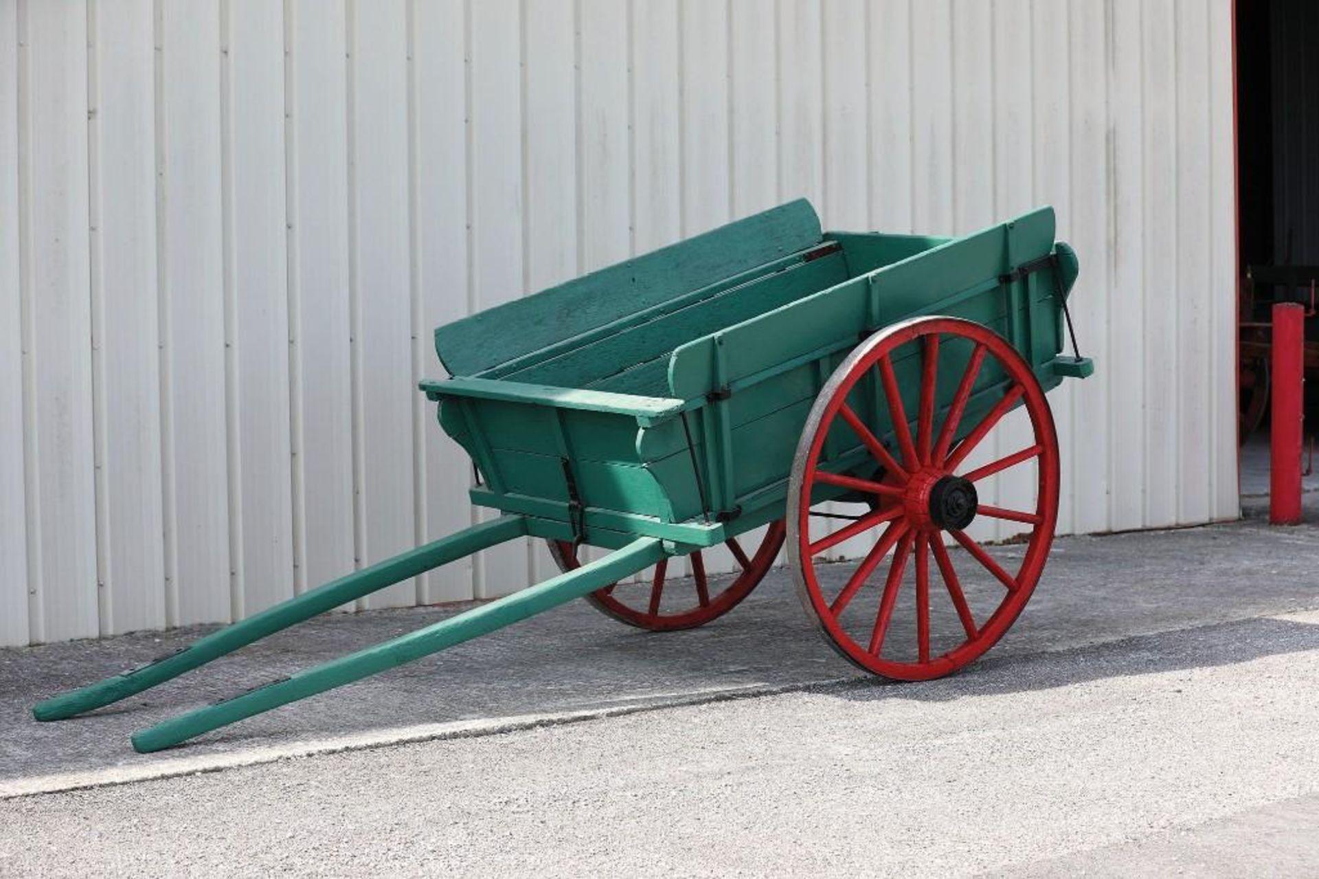 Horse-Size 2-Wheel Cart - Image 2 of 2