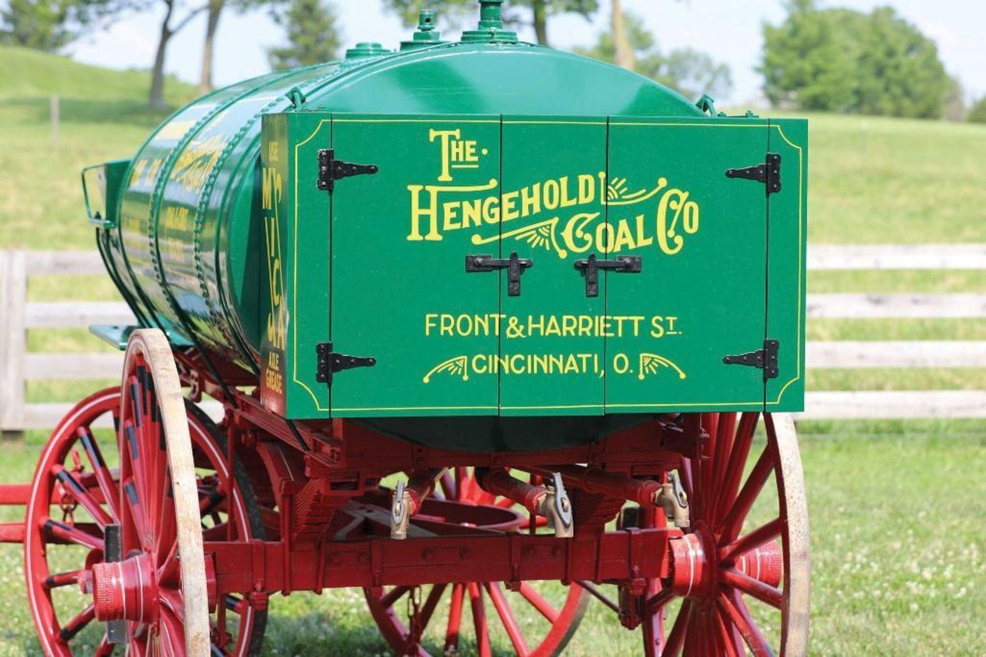 Restored Vintage Standard Oil Fuel Wagon - Image 3 of 3