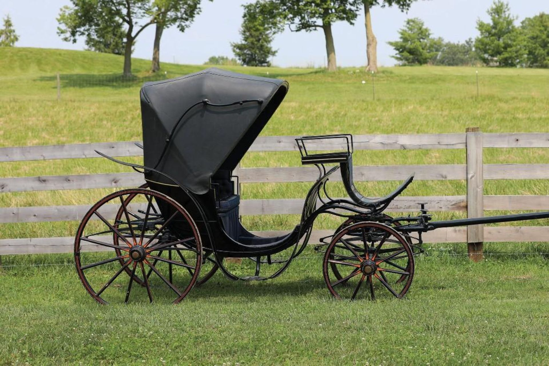 KING GEORGE V Victoria Carriage from Estate of Dimwitte Lampton in Lexington, KY