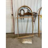 Set of Covered Wagon Bows and Canvas