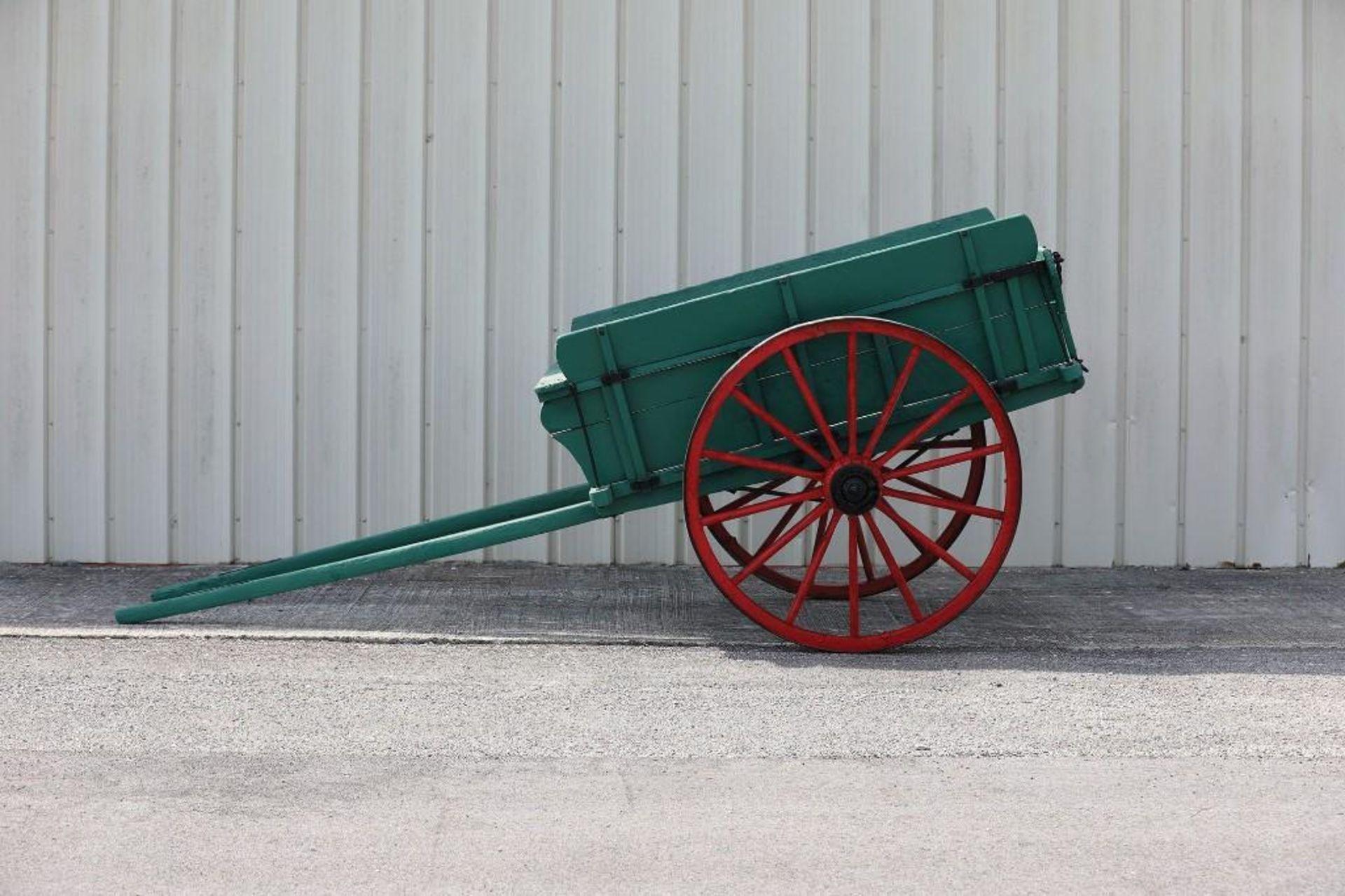 Horse-Size 2-Wheel Cart