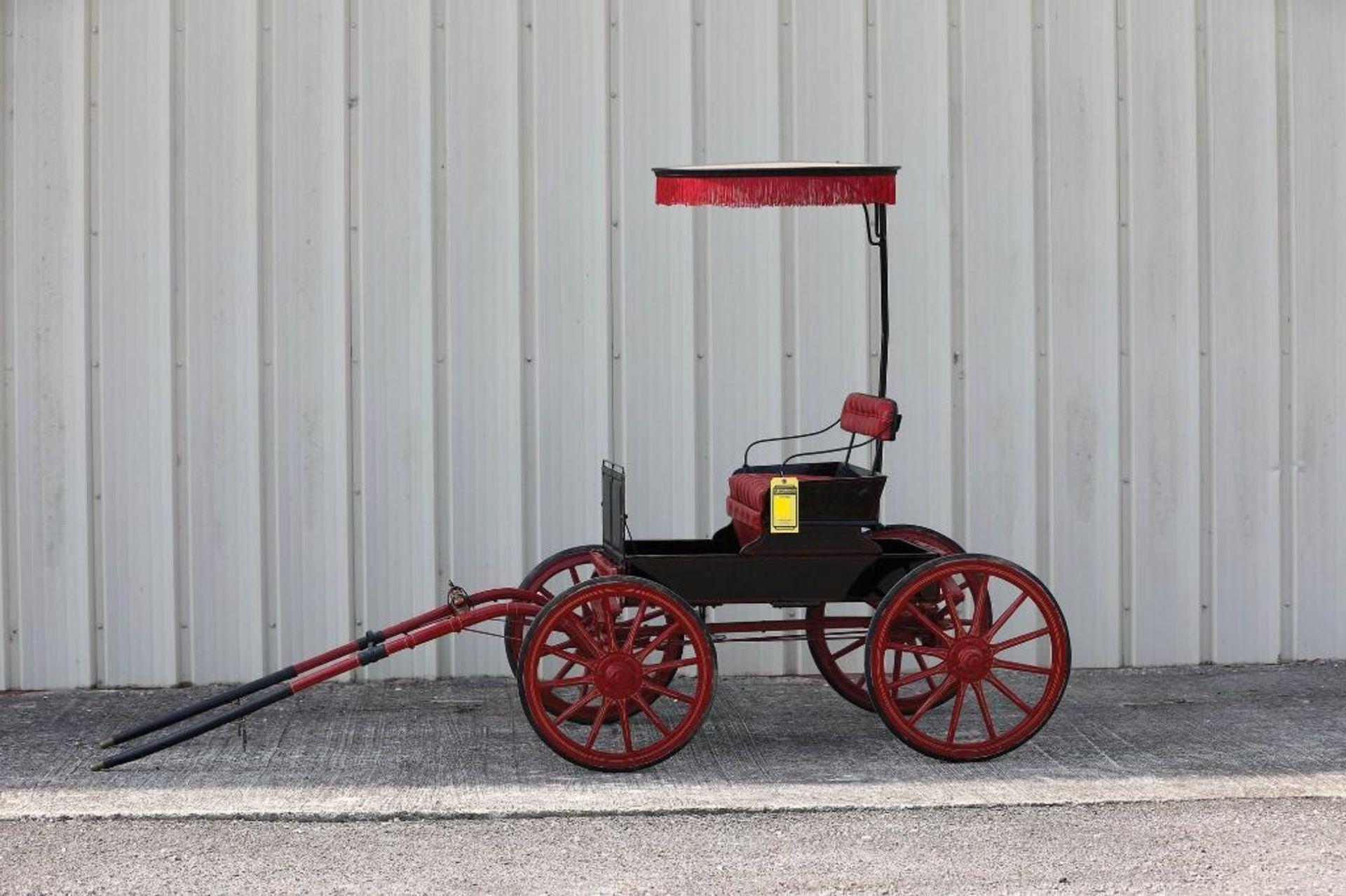 Miniature Pony Surrey, 4-Wheel Steer