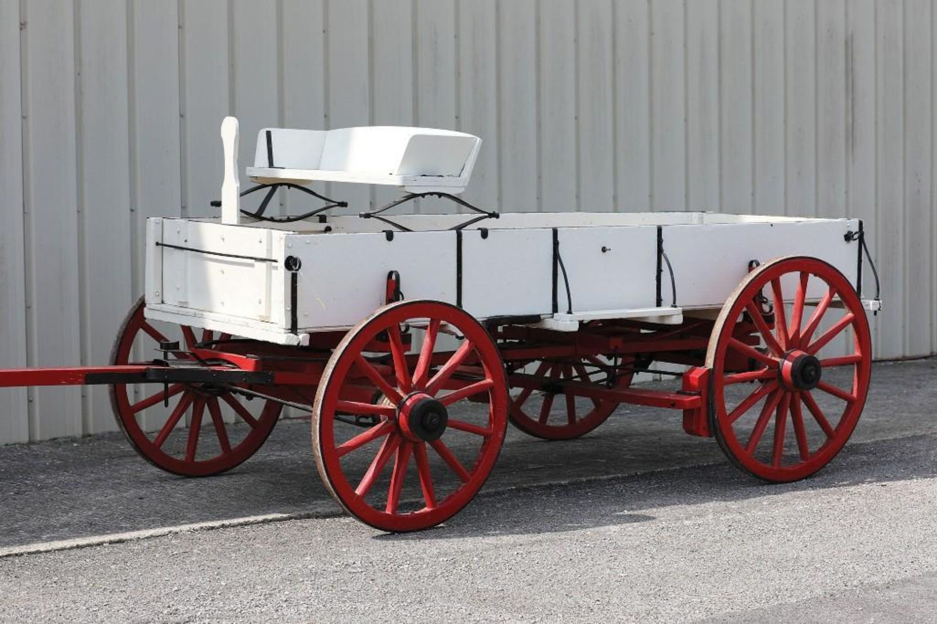 OWENSBORO Box Bed Farm Wagon, Hand Brake, Seat will sell separate - Image 2 of 2