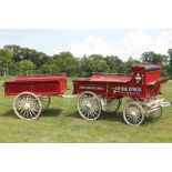 HEINZ Wagon by TROYERS. Setup for 6, Used by Heinz Promotional Parade Wagon from 1985 to 1995,