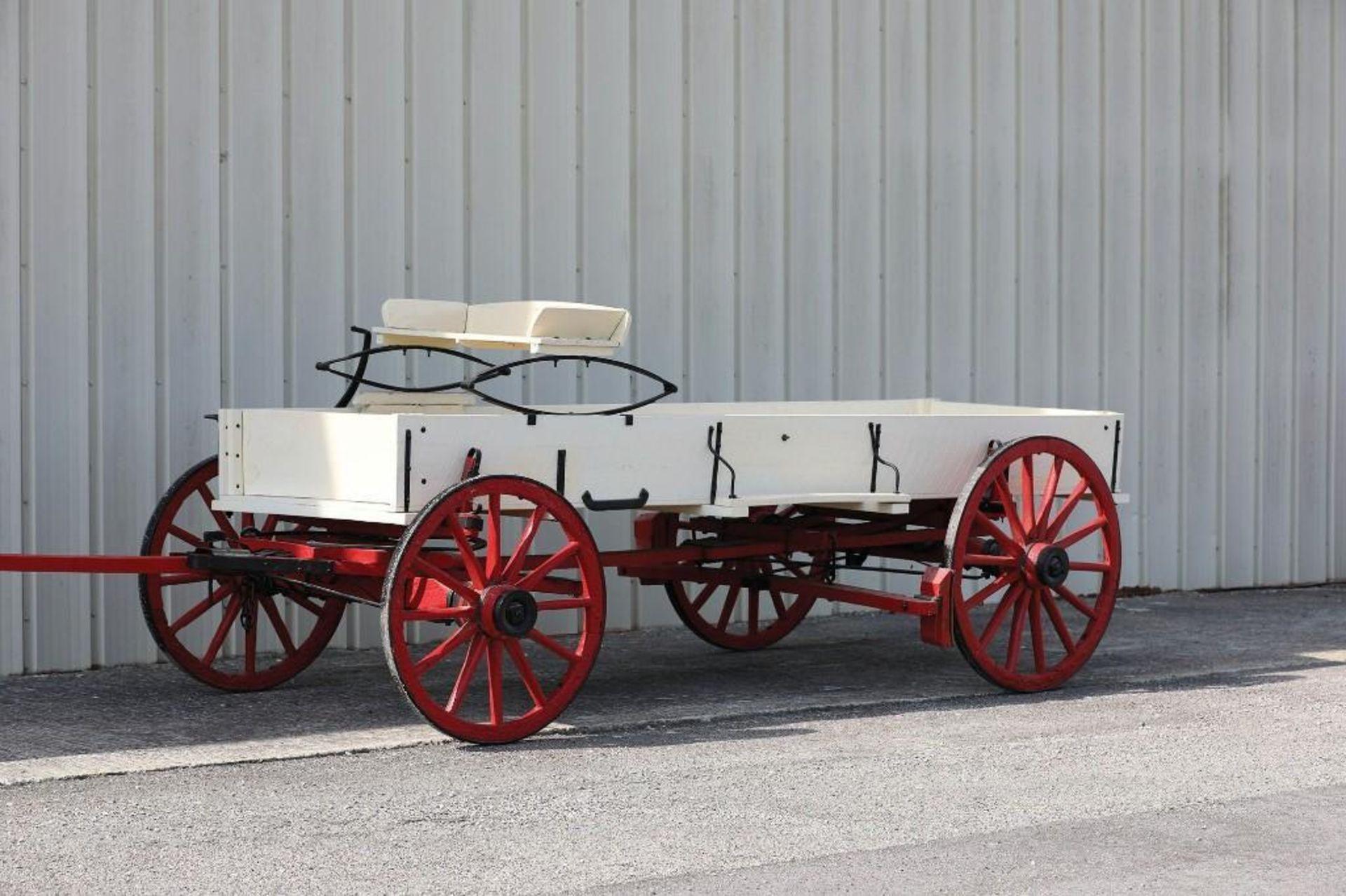 OWENSBORO Box Bed Farm Wagon, Original Plate - Image 2 of 2
