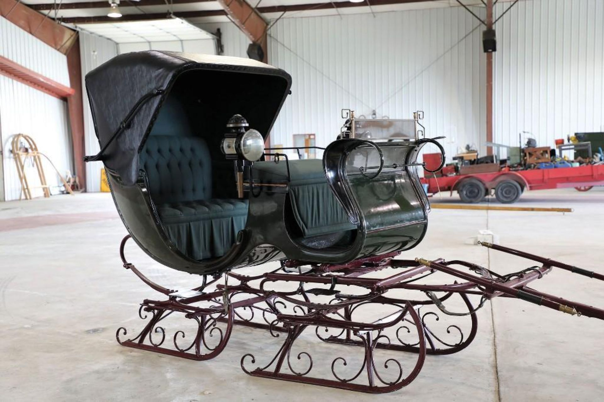 Autotop Sleigh, Made in Troy, NY. Lamps will sell separate