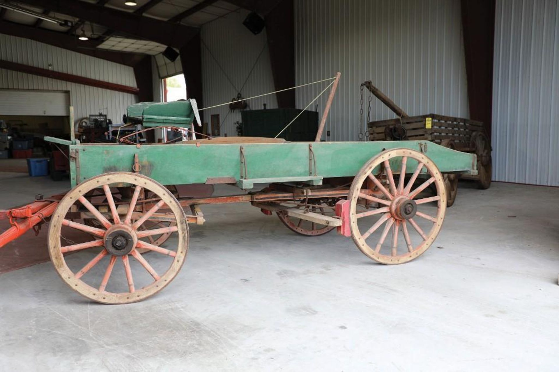 OWENSBORO Box Bed Farm Wagon - Image 2 of 2