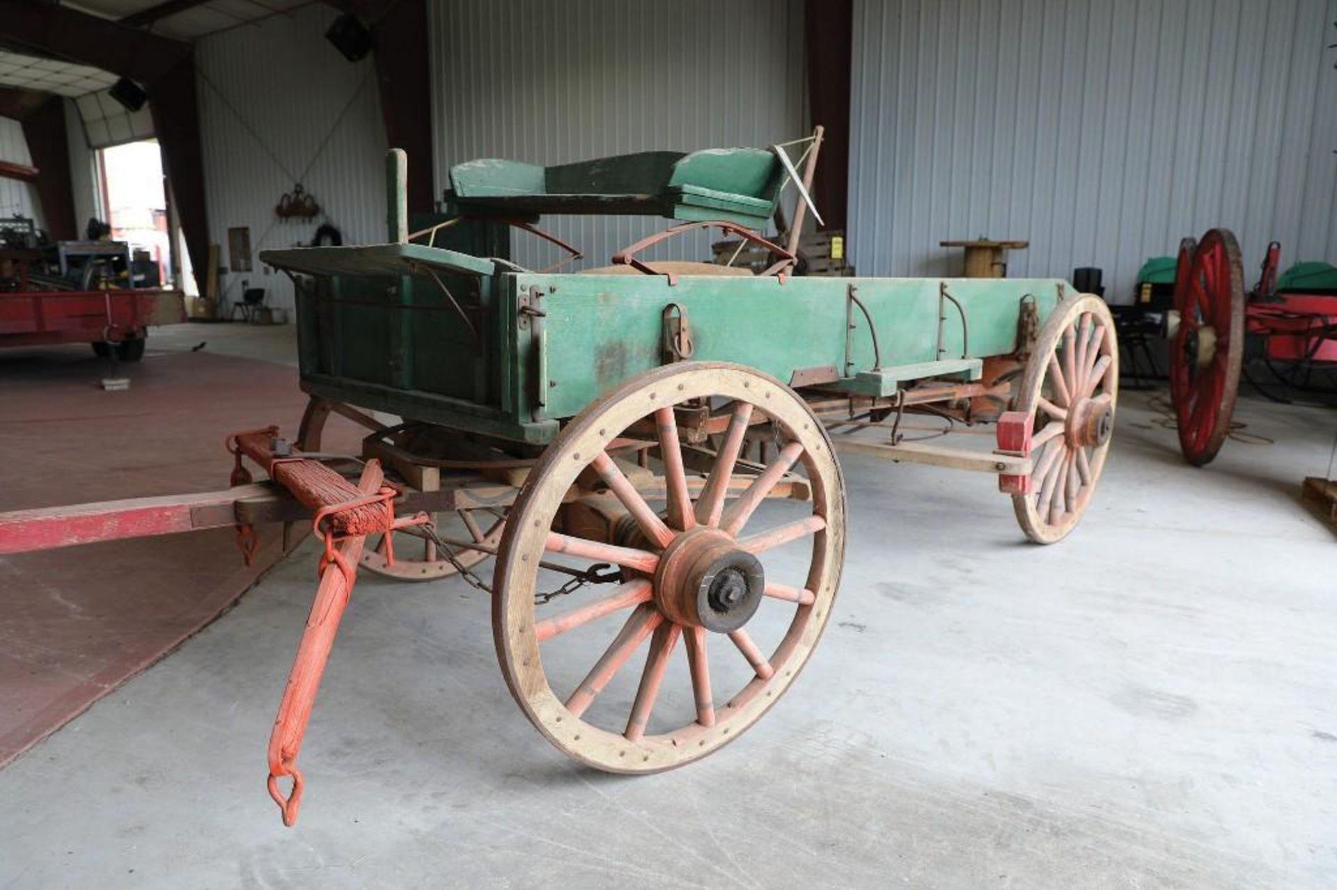 OWENSBORO Box Bed Farm Wagon