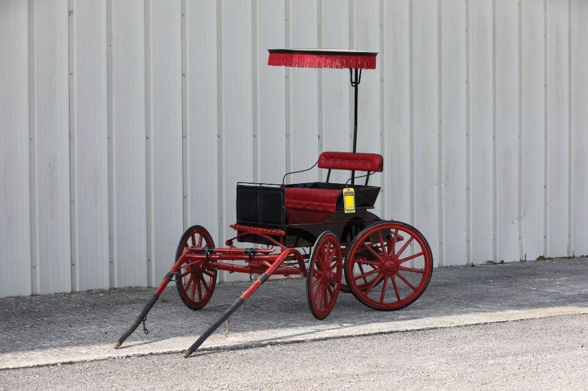 Miniature Pony Surrey, 4-Wheel Steer - Image 2 of 2