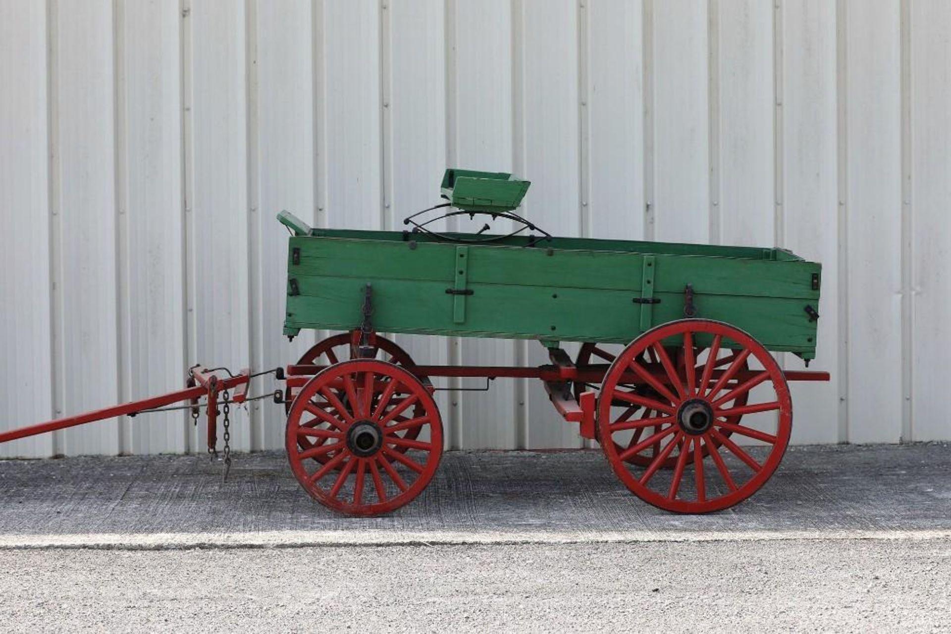 Pony Box Bed Farm Wagon