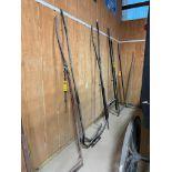 7' - 9' Adjustable Steel Buggy Shaft, 15-1/2'' Solid Hitch